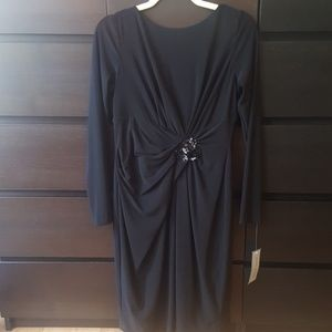 Anne Klein New York time to shine black dress